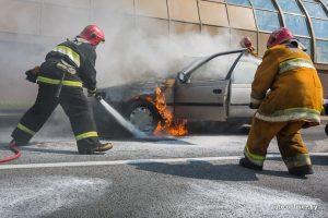 пожар в автом.